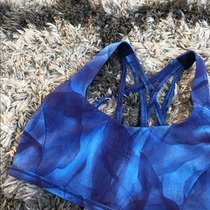 Lululemon Blue Free To Be Serene Bra Size 8